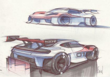 2021 Porsche Mission R concept 74