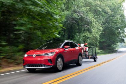 2022 Volkswagen ID.4 AWD Pro S with Gradient Package - USA version 95