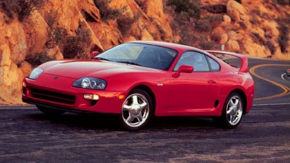 1997 Toyota Supra twin turbo 9