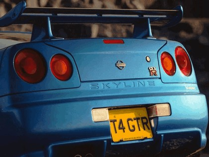1998 Nissan Skyline GT-R R34 5