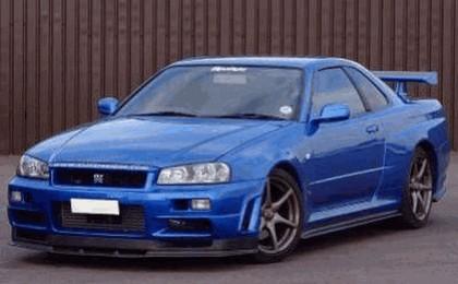 1998 Nissan Skyline GT-R R34 9