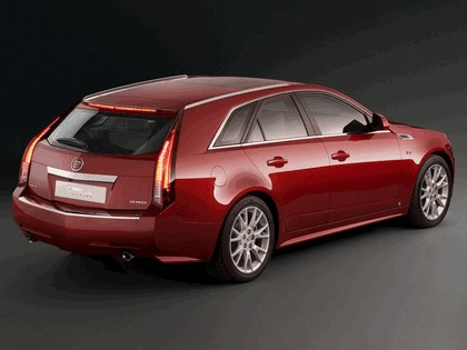 2008 Cadillac CTS Sport Wagon 3