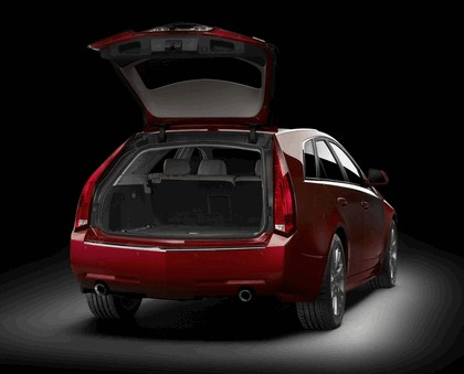 2008 Cadillac CTS Sport Wagon 9