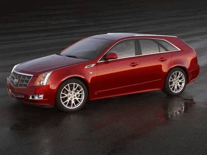2008 Cadillac CTS Sport Wagon 10