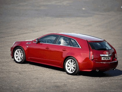 2008 Cadillac CTS Sport Wagon 26