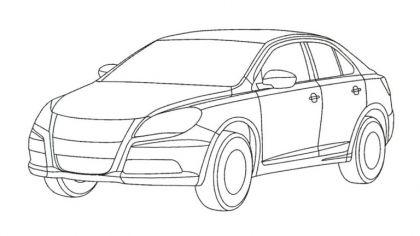 2008 Suzuki Kizashi sketches 9