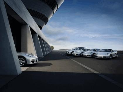 2008 Porsche Panamera teasers 1