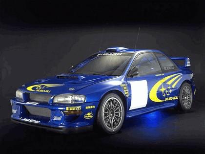 1998 Subaru Impreza 22B rally 1