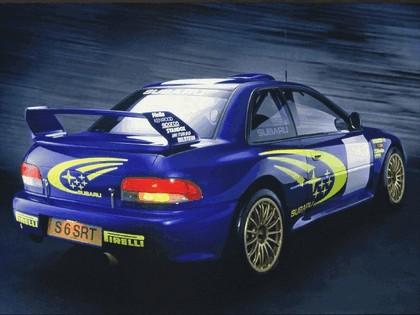1998 Subaru Impreza 22B rally 2