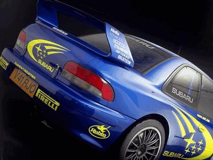 1998 Subaru Impreza 22B rally 4