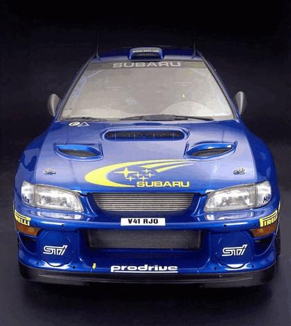 1998 Subaru Impreza 22B rally 5