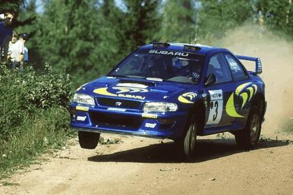 1998 Subaru Impreza 22B rally 8