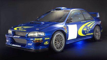 1998 Subaru Impreza 22B rally 3