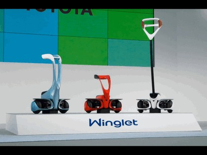 2008 Toyota Winglet - personal transport assistance robot 1