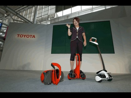 2008 Toyota Winglet - personal transport assistance robot 2