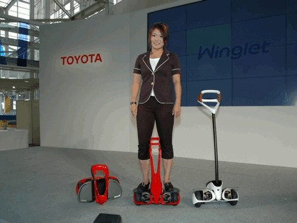 2008 Toyota Winglet - personal transport assistance robot 4
