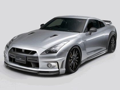 2008 Nissan GT-R by Wald 1