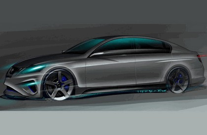2008 Lexus GS460 by Five Axis - sketches 1