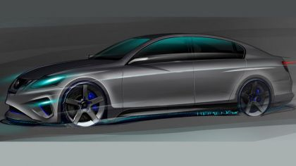 2008 Lexus GS460 by Five Axis - sketches 2