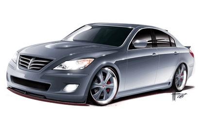 2008 Hyundai High-Performance Genesis Sedan by RKSport 1