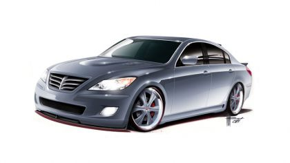 2008 Hyundai High-Performance Genesis Sedan by RKSport 8