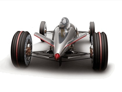 2008 BMW Hydrogen powered salt flat racer 2