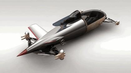2008 BMW Hydrogen powered salt flat racer 3