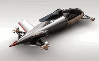 2008 BMW Hydrogen powered salt flat racer 14