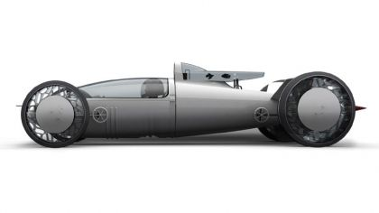 2008 BMW Hydrogen powered salt flat racer 7