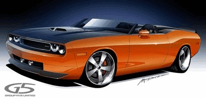 2008 Dodge Charger convertible by G5 sketches 1