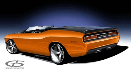 2008 Dodge Charger convertible by G5 sketches 2