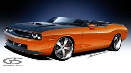 2008 Dodge Charger convertible by G5 sketches 5