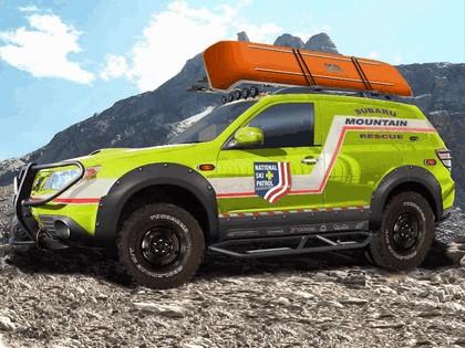 2008 Subaru Mountain Rescue Forester concept 1