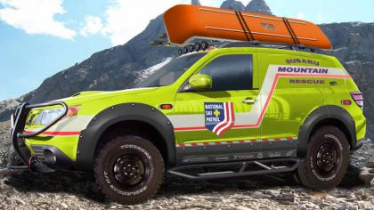 2008 Subaru Mountain Rescue Forester concept 6