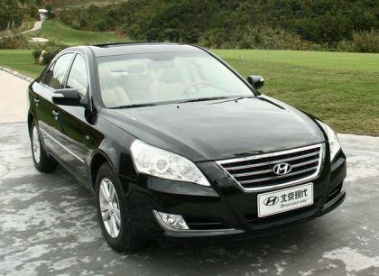 2008 Hyundai Sonata sedan 1