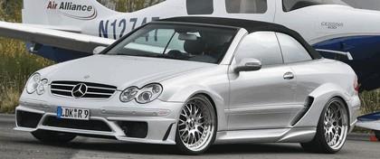 2008 Mercedes-Benz CLK cabriolet DTM replica kit by Inden-Design 1