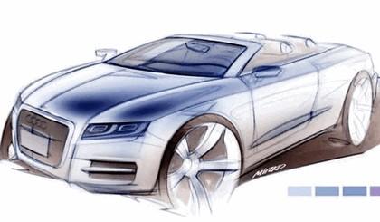 2008 Audi A5 cabriolet concept 1