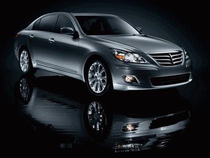 2009 Hyundai Genesis sedan 1
