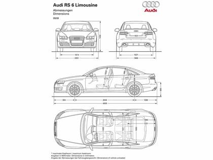 2009 Audi RS6 sedan 15