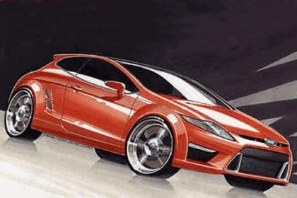 2009 Ford Capri sketches 1