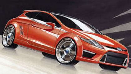2009 Ford Capri sketches 5