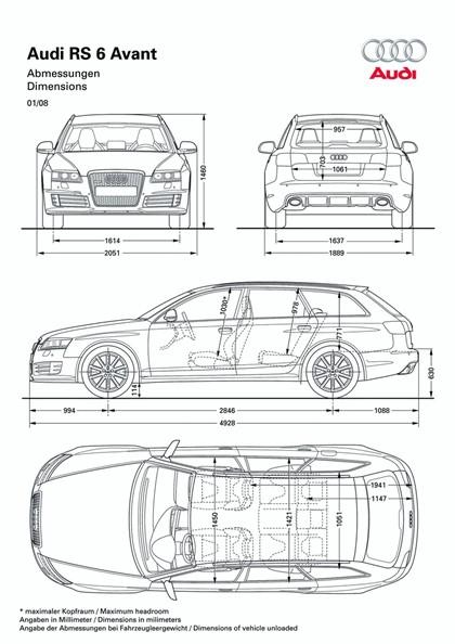 2009 Audi RS6 Avant 21