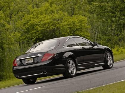 2009 Mercedes-Benz CL550 4Matic 8