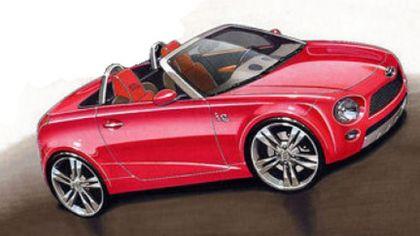 2009 Toyota iQ spyder concept sketches 9