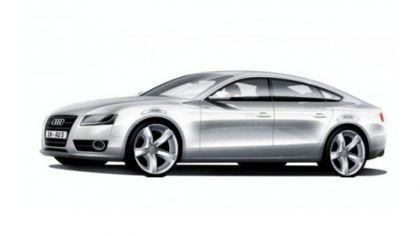 2009 Audi A5 sportback sketches 5