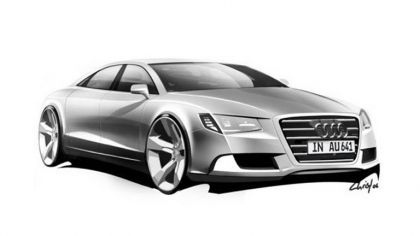 2009 Audi A8 sketches 4