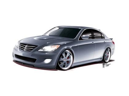 2009 Hyundai Genesis sedan by RKSport 5