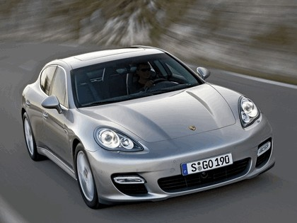 2009 Porsche Panamera Turbo 10
