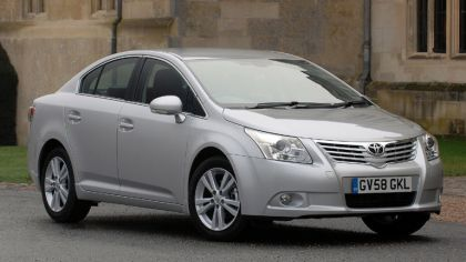 2009 Toyota Avensis UK version 8