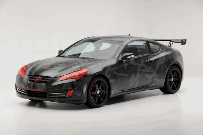 2010 Hyundai Genesis Coupe by Street Concepts 2
